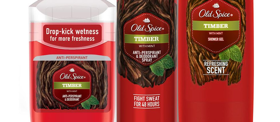 Timber от Old Spice